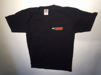 T-Shirt Heavy Cotton, schwarz, Kurzarm